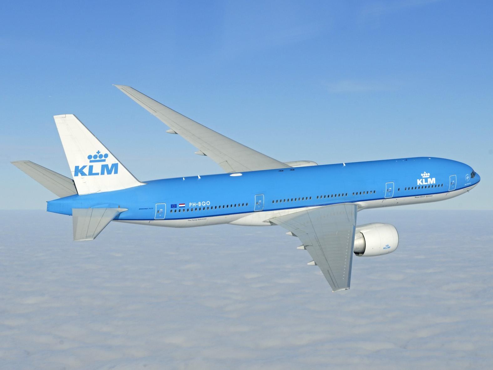 KL Boeing 777-200