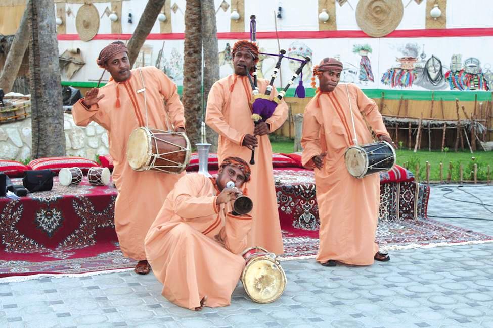 مسقط، زیباروی عربی