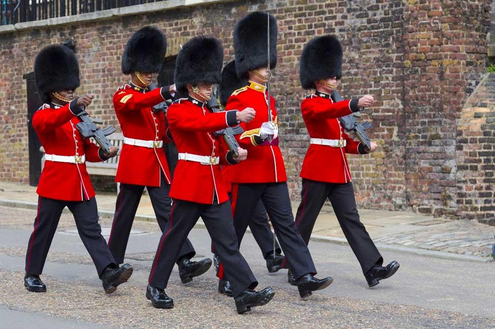 رژههای نظامی در لندن