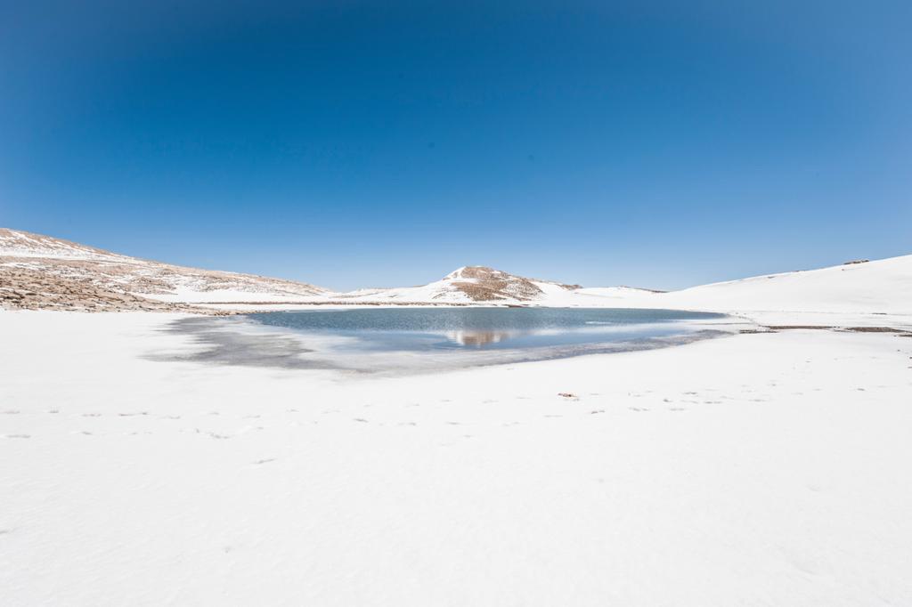 دریاچهای بر بلندای استان فارس