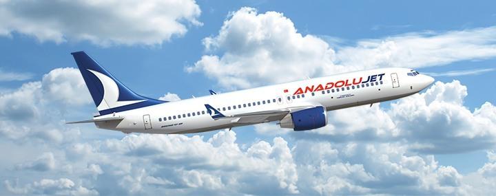 آنادلوجت، برند تجاری هواپیمایی ترکیش برای سفرهای هوایی ارزان